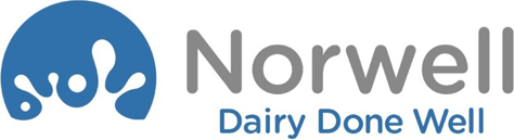 Norwell Dairy Done Well Print Logo